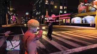 GTA V Online Funny Moments #4 Makarov Style, Return to Russia, LS Gangs, Sexy Cop, Getting High!