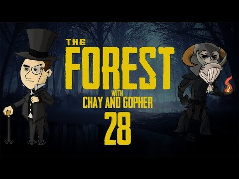 THE FOREST #28: with Chay & Gopher - The Epically Long Quest Home