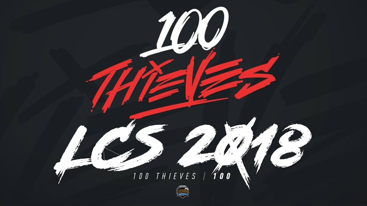 100 Thieves LCS Announcement Video 2018