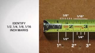 Reading a Tape Measure | Andersen Windows