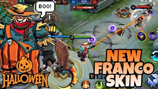 FRANCO SPECIAL HALLOWEEN SKIN WHEATFIELD NIGHTMARE | WOLF XOTIC | MOBILE LEGENDS BANG BANG