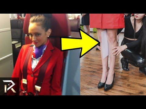 10 STRANGE Requirements To Work As A Flight Attendant