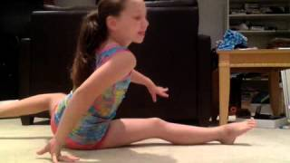 seven gymnastics girls audition.