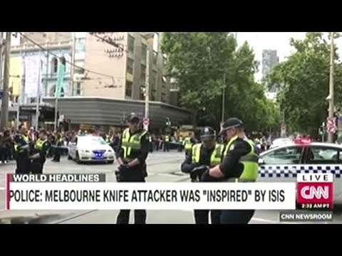 "Melbourne Knife Attacker (Who ""Was Known To Authorities"") Was Inspired ISIS Mp3"
