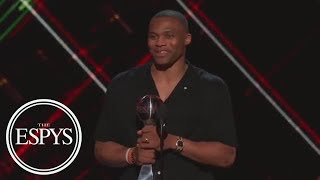 Russell Westbrook Wins Best Male Athlete | The ESPYS | ESPN