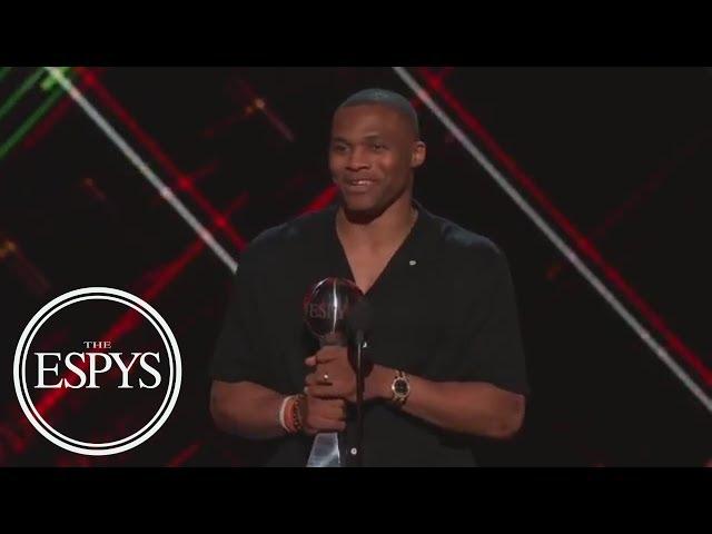 Russell Westbrook Wins Best Male Athlete | The ESPYS | ESPN