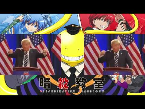 Donald Trump Sings Question (Assassination Classroom 2 Opening)