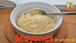 🔵 Mayonez ev şəraitində   Mayonez hazırlanması   Evde mayonez hazirlanmasi resepti  