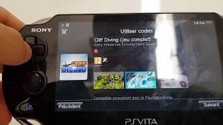 4 code de téléchargements de jeux ps vita