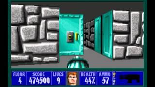 Wolfenstein 3D (id Software) (1992) Episode 6 - Confrontation (Complete) [HD]