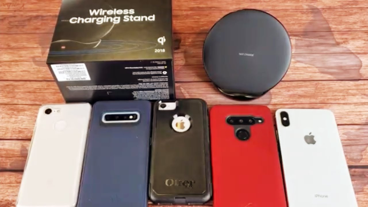low priced 2f720 6d9cb Samsung Qi Fast Wireless Charger Stand- Can Charge with OtterBox Case?