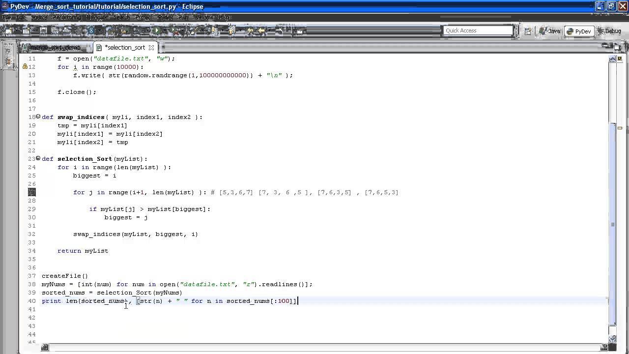 python programming examples