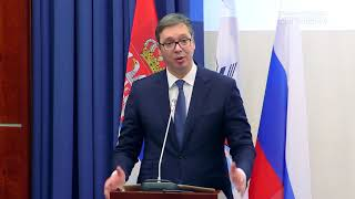 (серб) Президент Сербии А.Вучич — Почетный доктор МГИМО