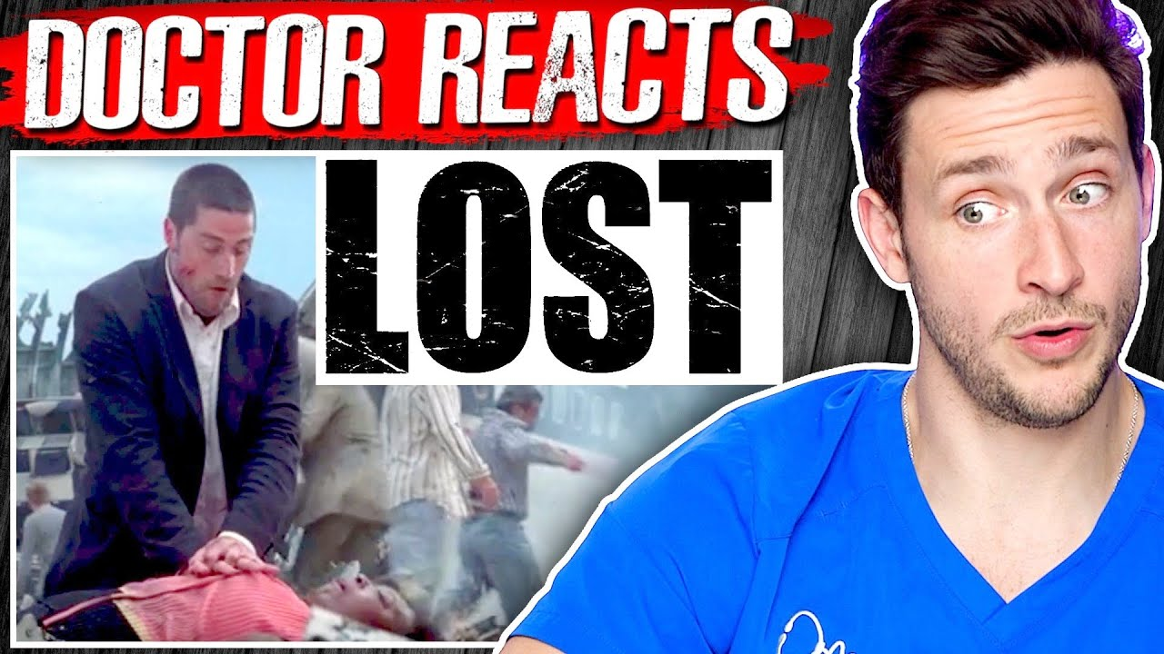 Doctor Reacts To LOST TV Show Medical Scenes