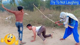 Must Watch full Comedy Video 🤣🤣 Full Suspense Comedy video 2019