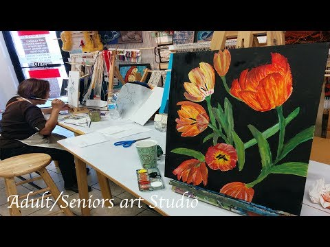OAS Adult/Seniors Art Studio