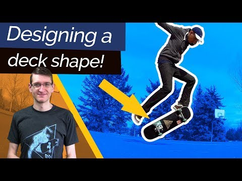 Designing my Own Deck Shape! The Perfect Hybrid Board? | Open Source Skateboards