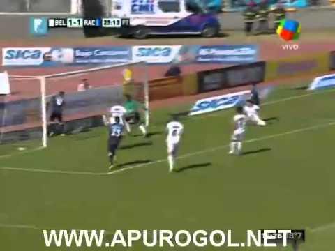 Belgrano Vs Racing Club (1-4) Primera División 2014 Fecha 9