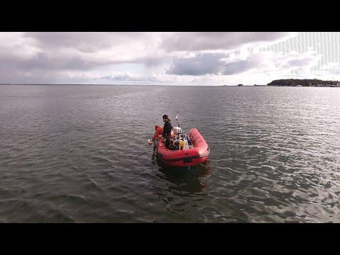 Badania podwodne zalanego portu w Pucku- jesień 2019