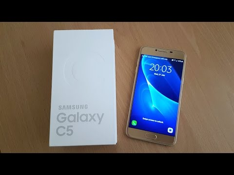 Samsung Galaxy C5 Gold - Unboxing & First Look! (4K)