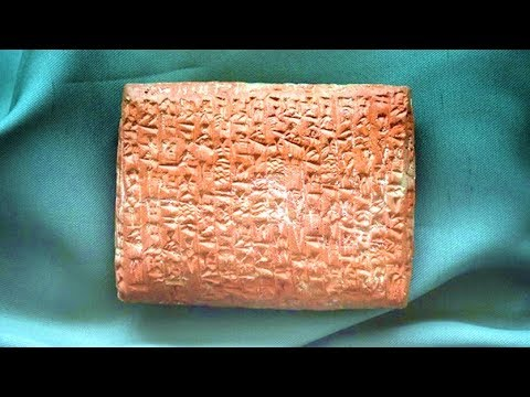 4,000 Year Old Clay Tablet Revealed Something Amazing