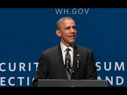 President Obama Speaks at the Cybersecurity and Consumer Protection Summit
