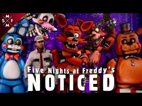 [SFM FNaF] NOTICED | Song Animation (MandoPony)