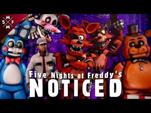 [SFM FNaF] NOTICED | Song Animation (MandoPony)