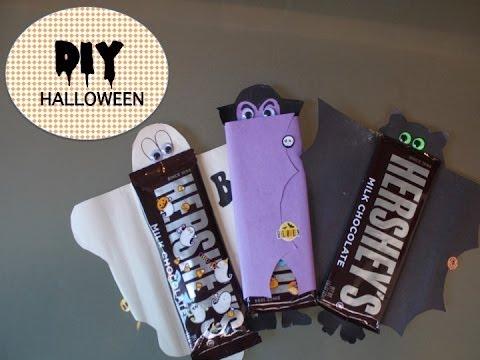 Diy Envoltura Chocolates Youtube