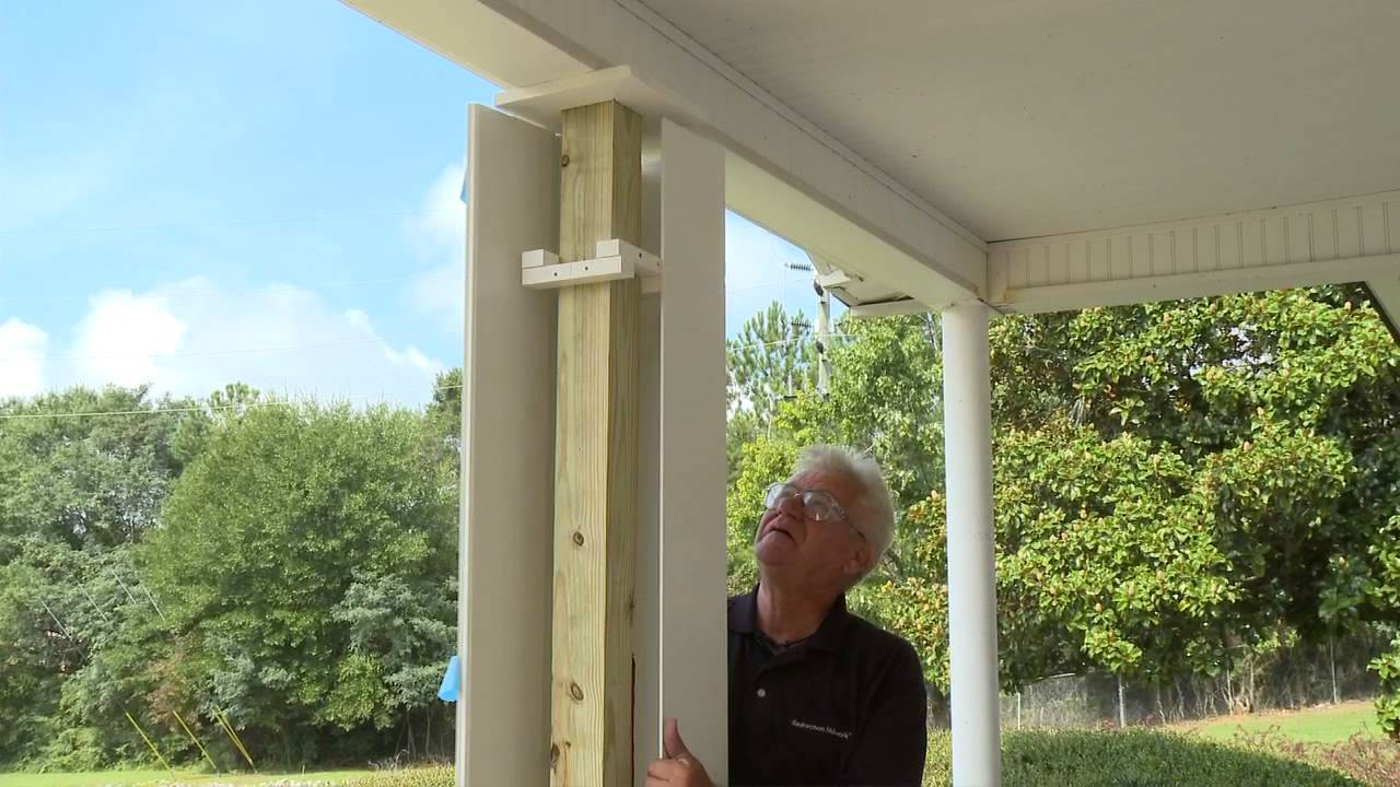 Restoration Millwork Column Wraps Youtube