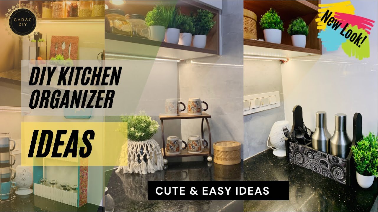 I will show you how to make your own kitchen organisers   Don't Miss Out The New Look!   GADAC DIY