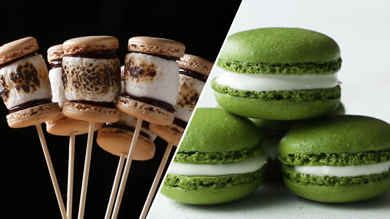How To Make Macaron Recipes To Become A Macaron Master Tasty Youtube
