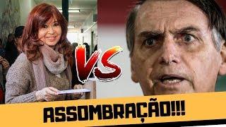 A VOLTA DE KIRCHNER ASSOMBRA BOLSONARO!!!