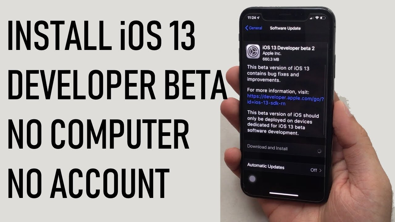 Install iOS 13 Beta 2 without Developer Account Free on iPhone, iPad