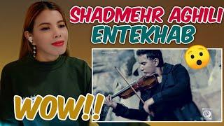 SHADMEHR AGHILI - Entekhab official video |Reaction