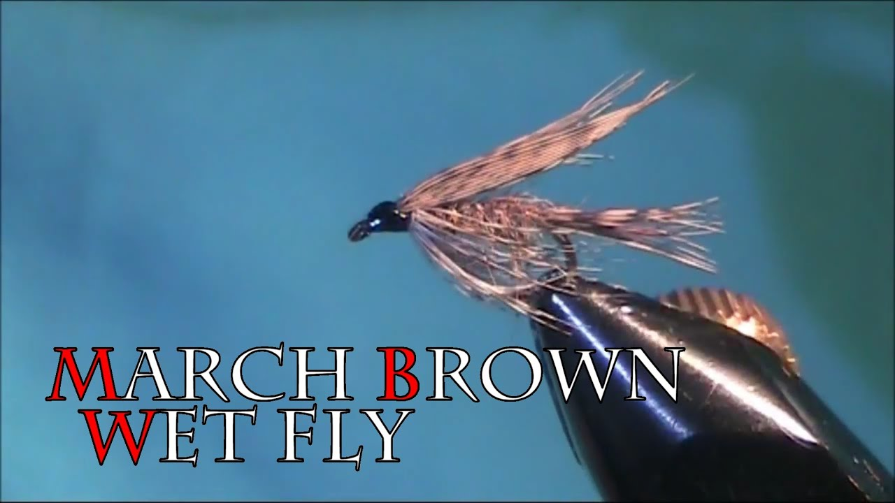 March Brown Wet Fly
