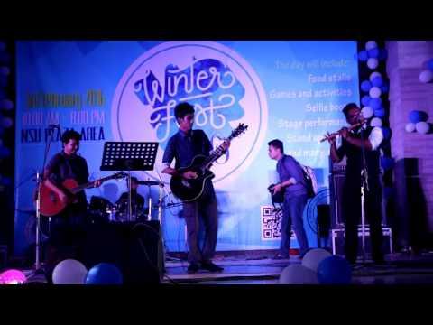 Aniket Prantor (অনিকেত প্রান্তর) (Artcell) - flute cover at NSU Winter Fest 2016 by #Project_NEEL