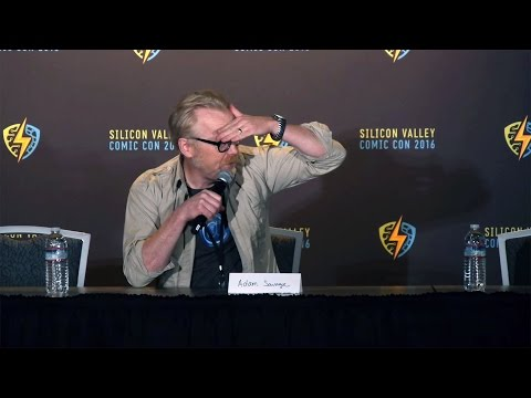 Adam Savage Answers Questions at Silicon Valley Comic Con!