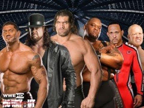 WWE 2K18 No Way Out 2008 Elimination Chamber Match