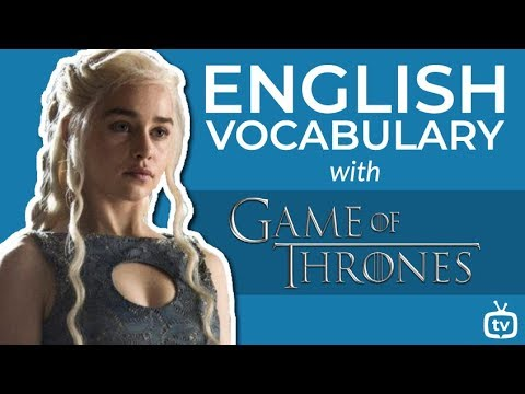 35+ English Vocabulary Words For Action Series And Movies | Learn English With Game Of Thrones
