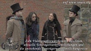 UnArt Live TV - Interview zum Fanvideographiewettbewerb Coppelius