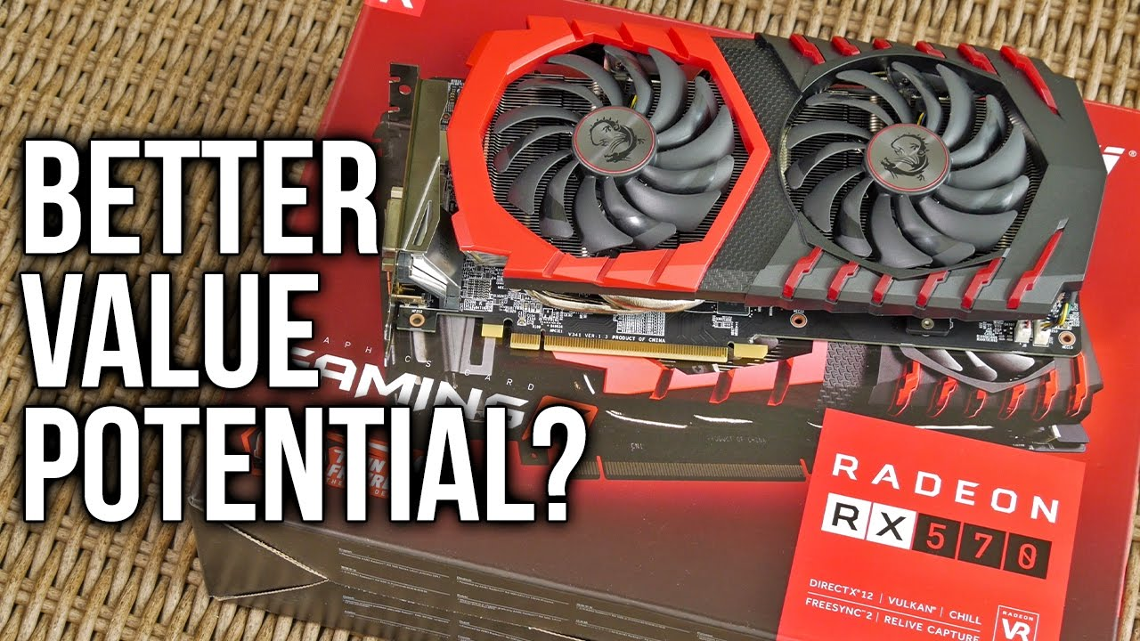MSI RX 570 Gaming X 4G Review - Catching Up