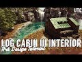 Log Cabin Interior Design :: Ark Building Tutorial :: How To Decorate a Log Cabin :: UniteTheClans