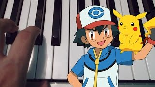 Pokemon / Atrapalos ya /  Piano Tutorial / Cover / Notas Musicales