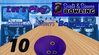 Let's Play Saints & Sinners Bowling [German] #10 - BINGO!