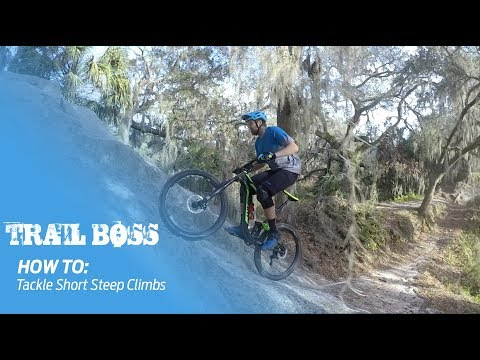 Trail Boss | How To: Tackle Short Steep Climbs