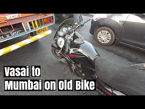 Vasai to Mumbai on a Very OLD Karizma 2005 Motor Vlog | India