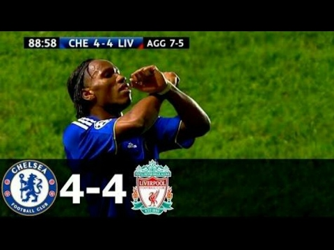 The Most Thrilling UCL Match Ever• Chelsea vs Liverpool•HD