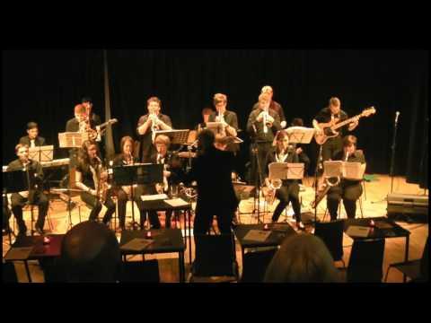 Garforth Jazz Rock Band at Seven Jazz, Leeds - Hayburner