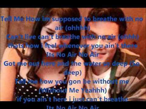 No Air - Rachel & Finn (LYRICS)